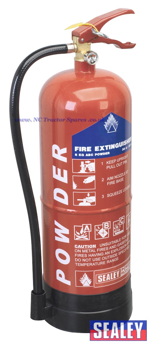 how to use dry powder fire extinguisher