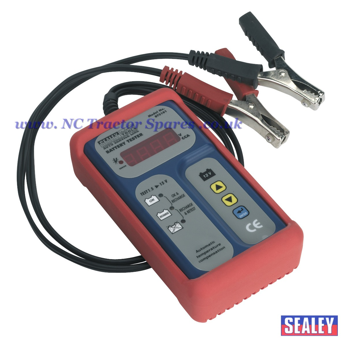 Digital Battery Analyzer : Digital battery tester v