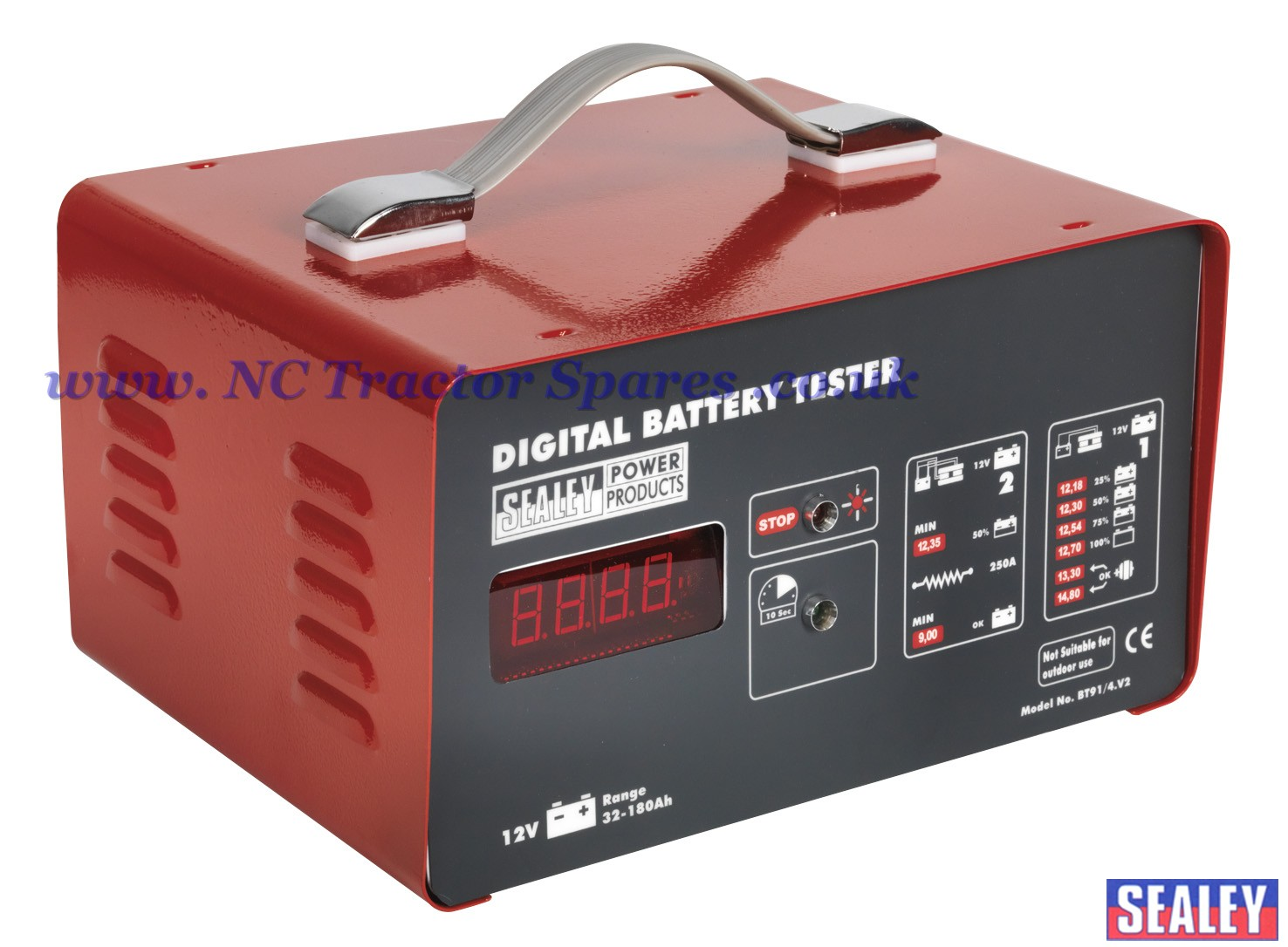 Electronic Battery Tester : Electronic battery tester function v
