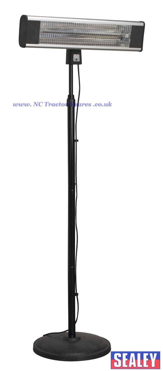 High Efficiency Carbon Fibre Infrared Patio Heater 1800w