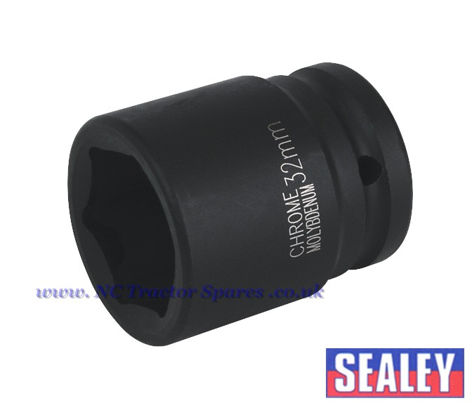 Impact Socket 32mm 3 4sq Drive