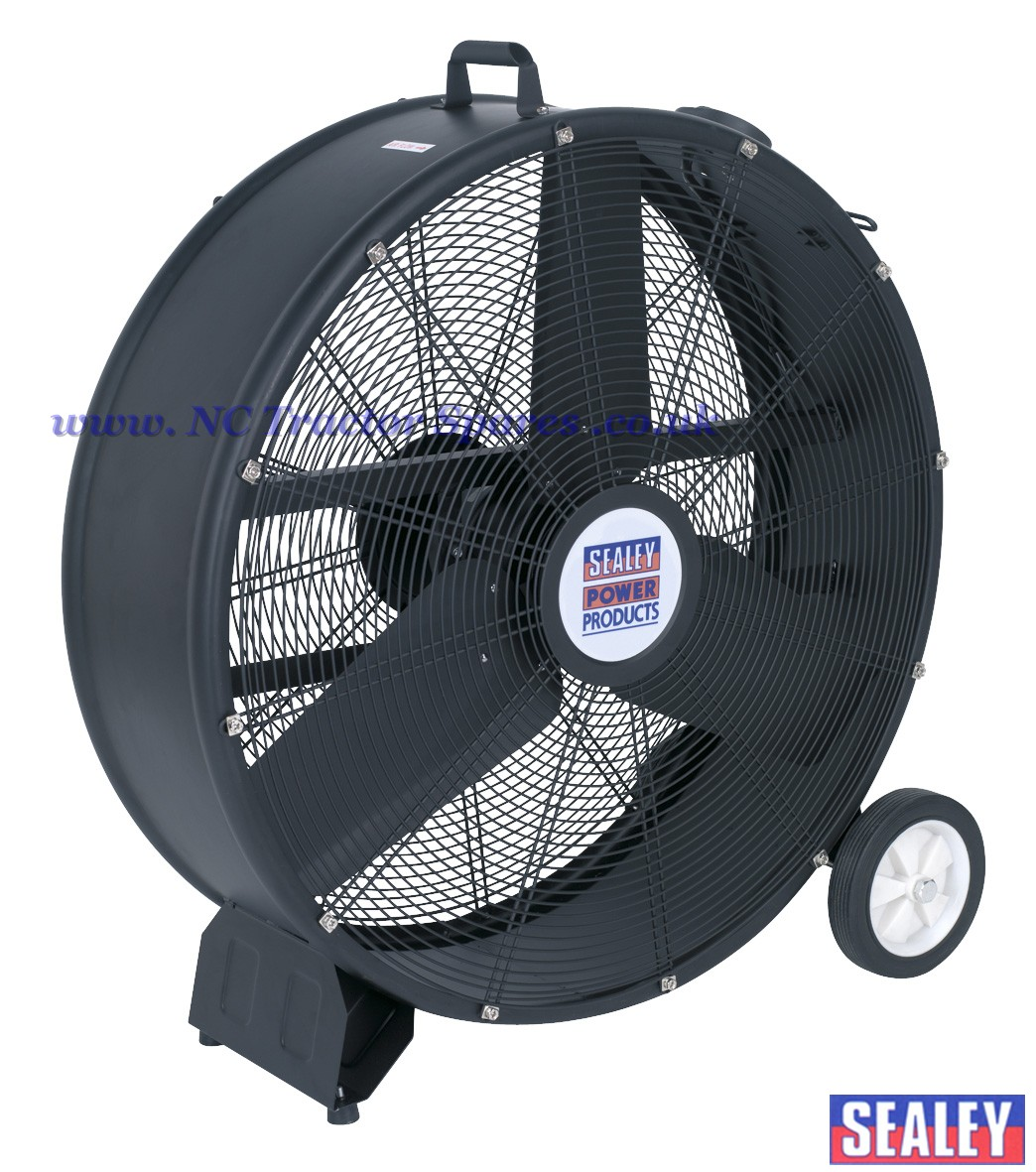 High Velocity Industrial Fans : Industrial high velocity drum fan v