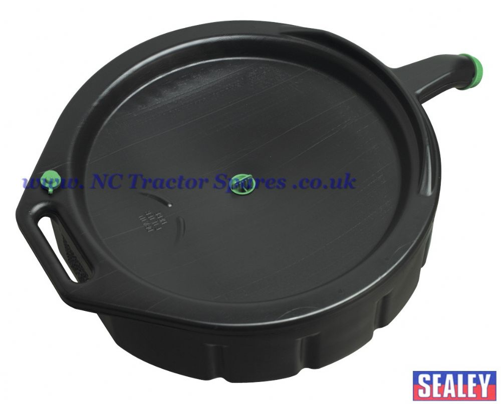 Oil fluid drain recycle container 16ltr for Recycle motor oil containers