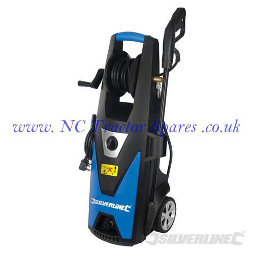 pressure washer 1800w 165bar max silverline. Black Bedroom Furniture Sets. Home Design Ideas