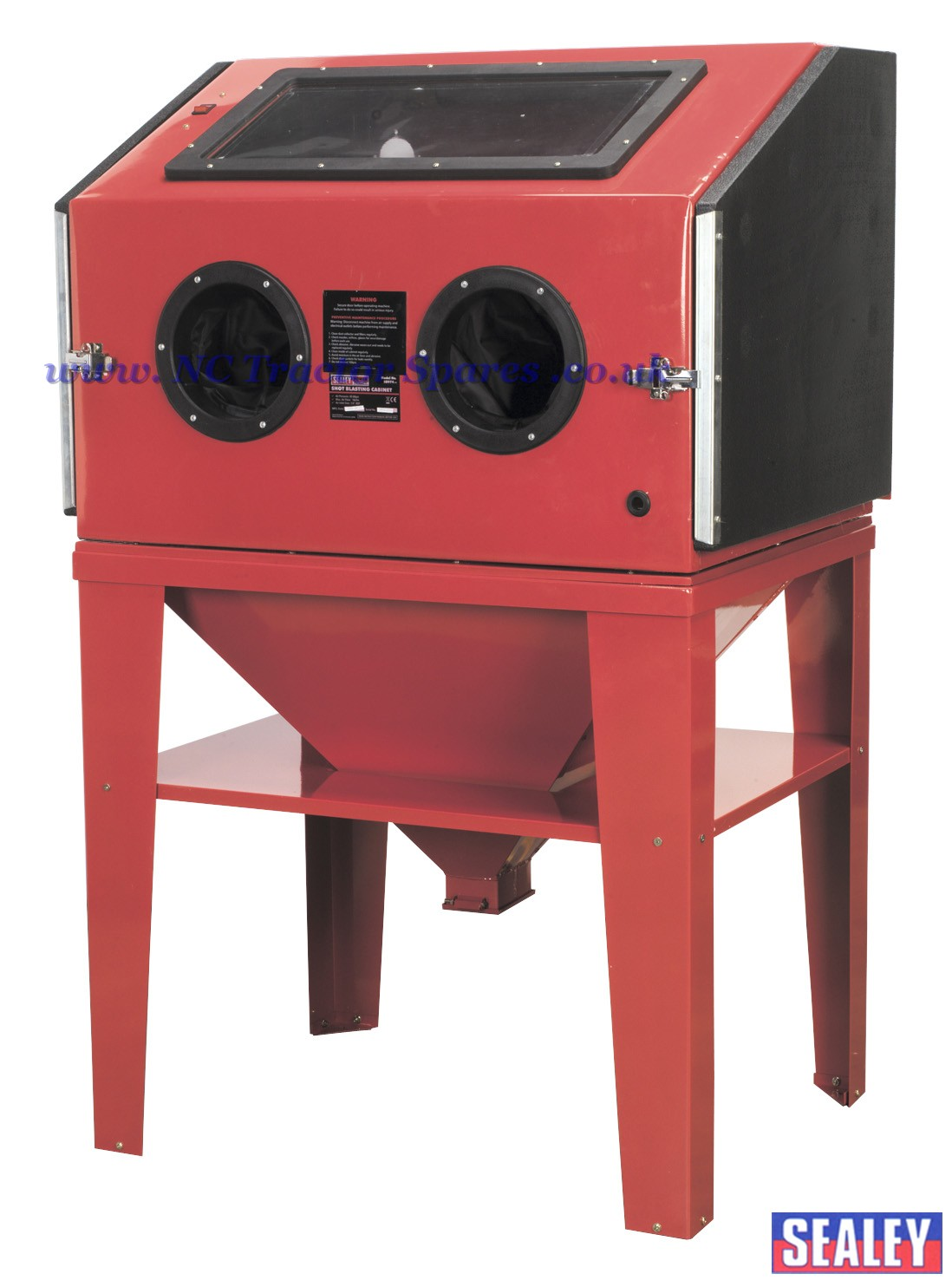 Shot Blasting Cabinet Double Access 960 X 720 X 1500mm