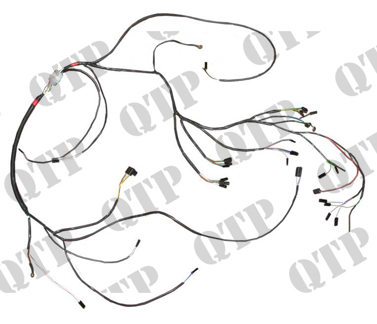 wiring loom david brown 990 selectamatic david brown 1490 wiring diagram David Brown Wiring Diagram #10