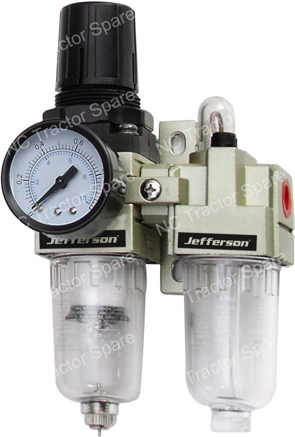 "1/4"" Outlet Filter Regulator / Lubricator"