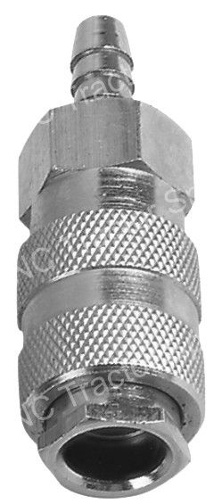 "1/4"" x 1/2""/10mm Hose Barb Coupler"
