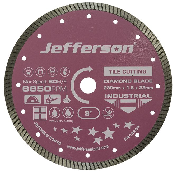115mm Tile Cutting Diamond Blade