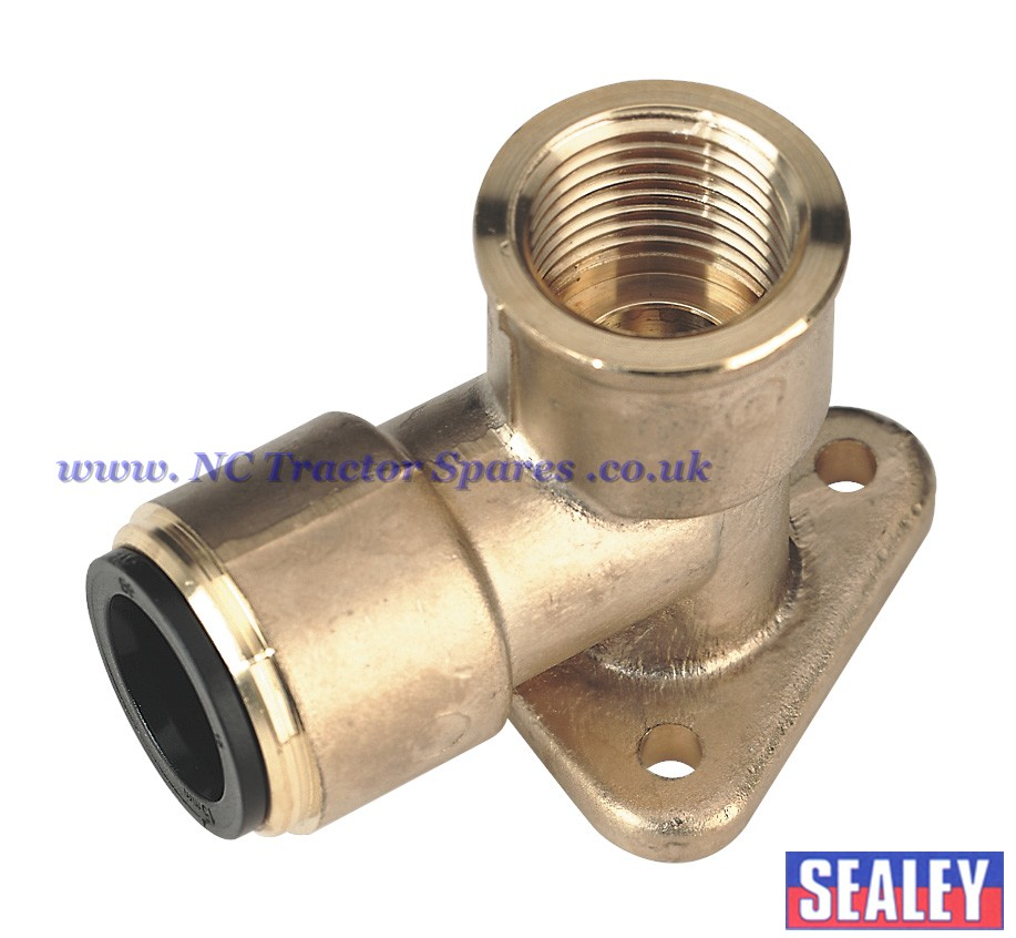 "22mm x 3/4""BSP Brass Wingback Elbow"
