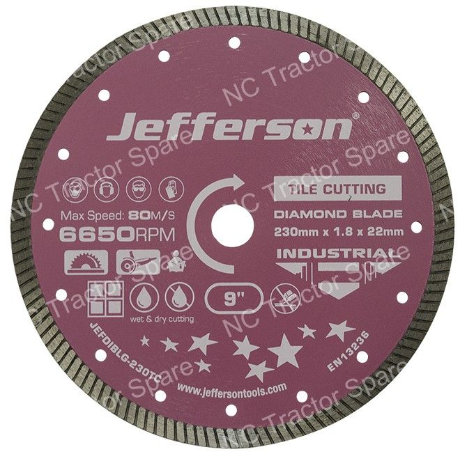 230mm Tile Cutting Diamond Blade