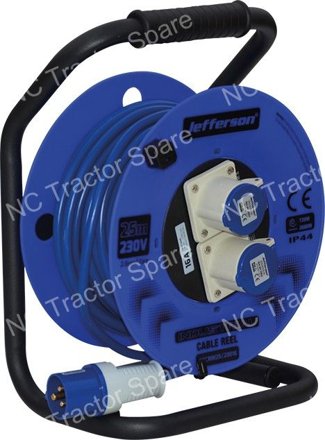 25m 230V 16A Cable Reel