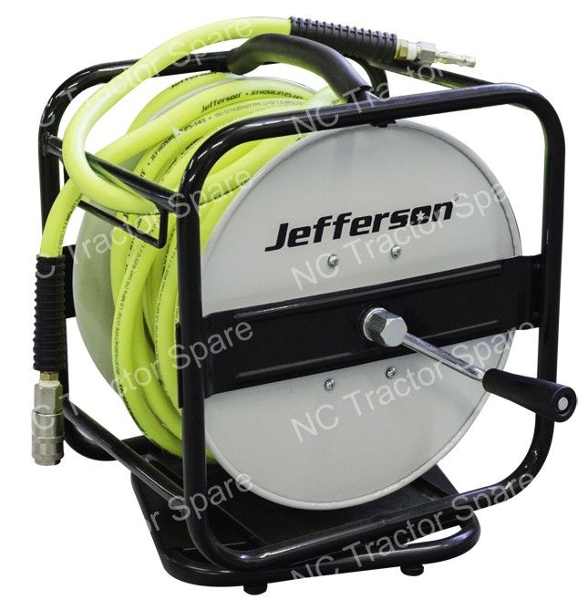 25m 360° High-Vis Air Hose Reel