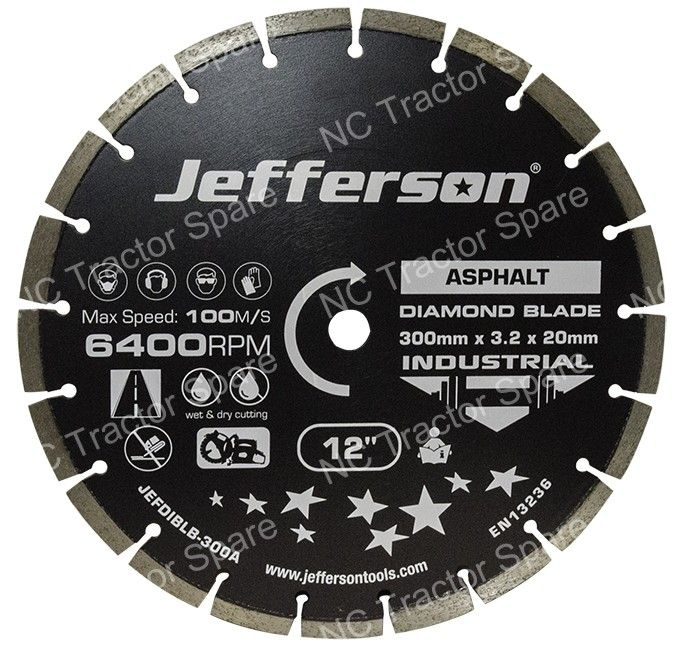 300mm Industrial Diamond Blade (Asphalt)