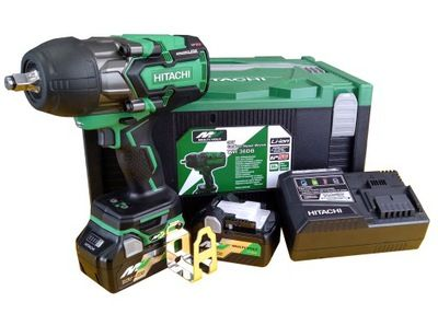 36V Hitachi/Hikoki 1/2 Impact Wrench 2X Batteries