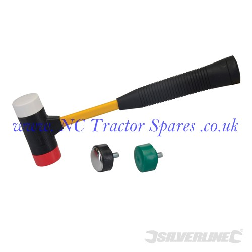 4-in-1 Multi-Head Hammer 300mm (Silverline)