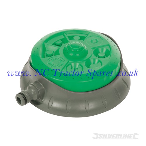 8-Pattern Dial Sprinkler 140mm Dia (Silverline)