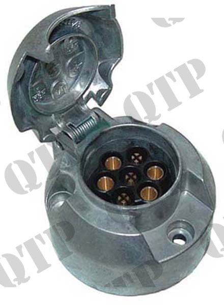 Trailer Socket 7 Pole Aluminium