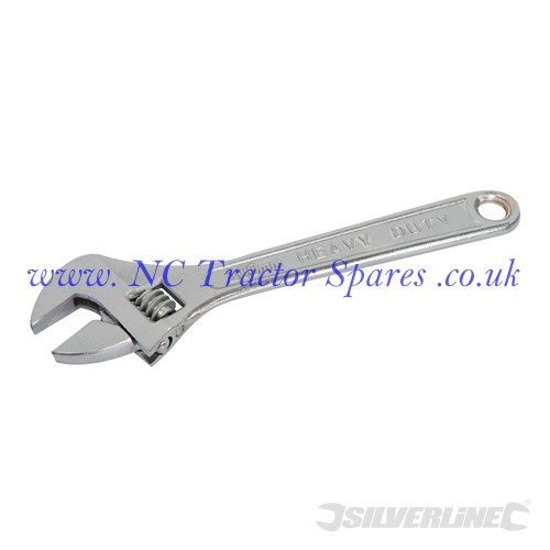 Adjustable Wrench Length 200mm - Jaw 26mm (Silverline)