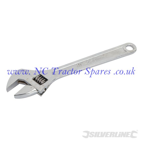 Adjustable Wrench Length 250mm - Jaw 30mm (Silverline)