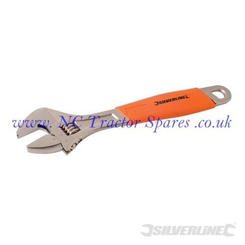 Adjustable Wrench Length 250mm - Jaw 30mm (Silverline).