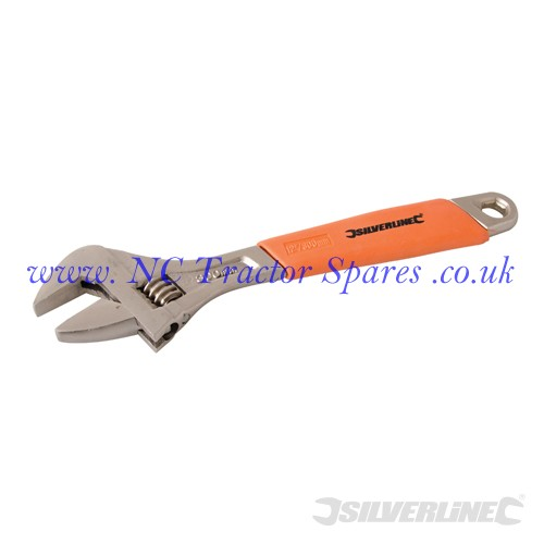 Adjustable Wrench Length 300mm - Jaw 38mm (Silverline)
