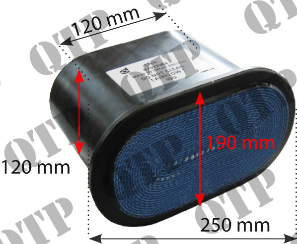 Air Filter Ford T5030 T5040 T5050 T5060 Outer