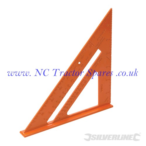 Aluminium Alloy Roofing Square 185mm (Silverline)