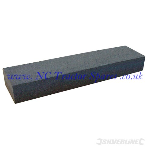 Aluminium Oxide Combination Sharpening Stone 200 x 50 x 25mm (Silverline)