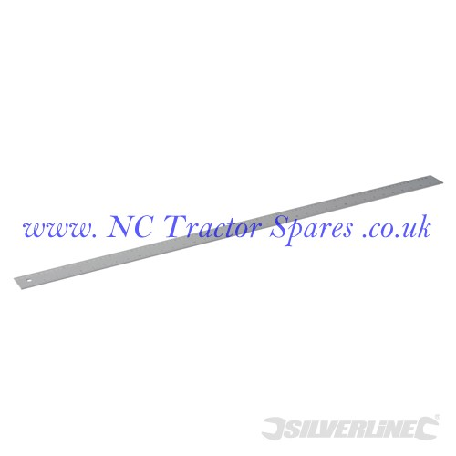 Aluminium Rule 1000mm (Silverline)