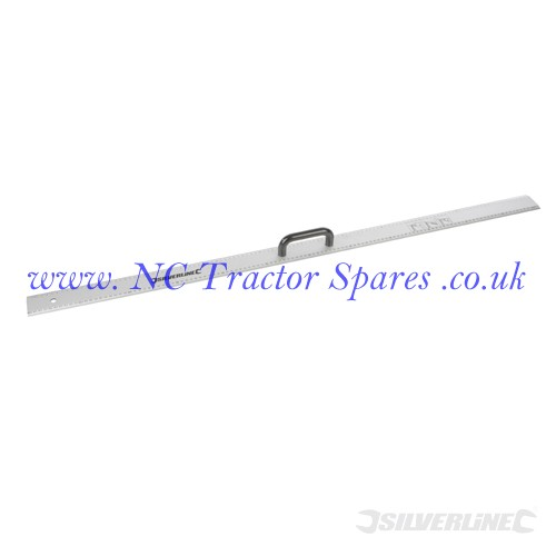 Aluminium Rule with Handle 1200mm (Silverline)