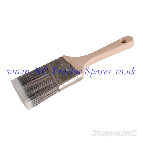 Angled Paint Brush 63mm Width (Silverline)