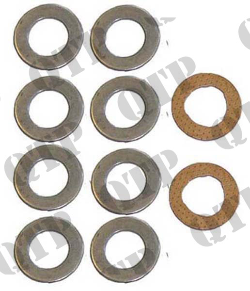 Anti Wobble Kit 165 590 8 Steel 2 Brass Discs