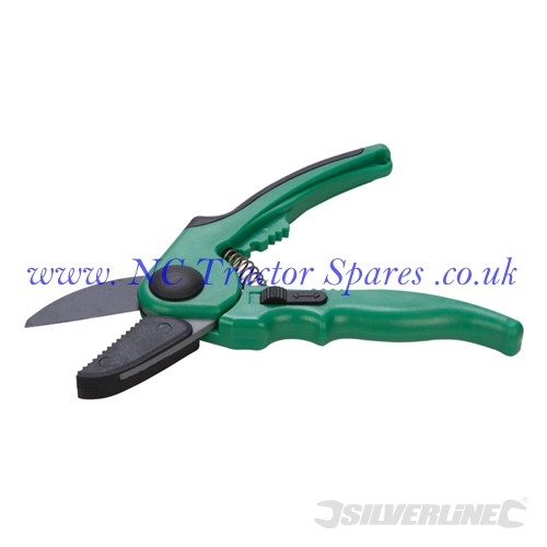 Anvil Secateurs 210mm (Silverline)