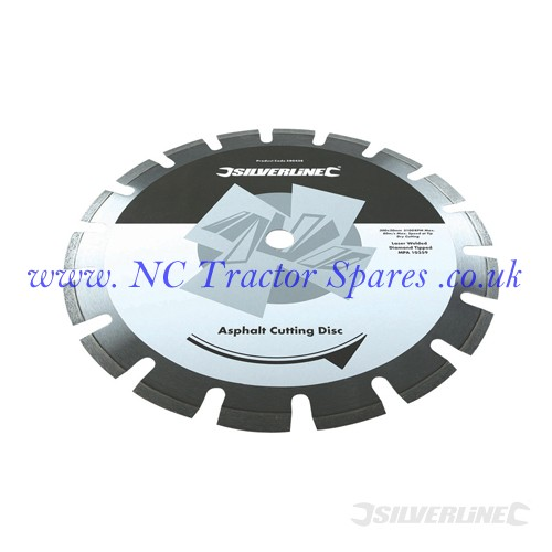 Asphalt Cutting Blade 300 x 20mm (Silverline)