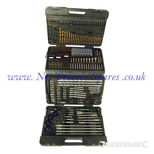 Assorted Drill Bit Set 204pce 204pce (Silverline)