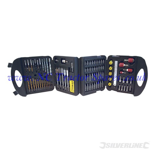 Assorted Drill Set 113pce 113pce (Silverline)