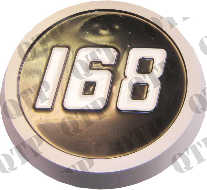 Badge 168 Moulded