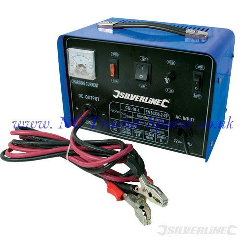 Battery Charger 12/24V 10A 12V / 24V 10A (Silverline)