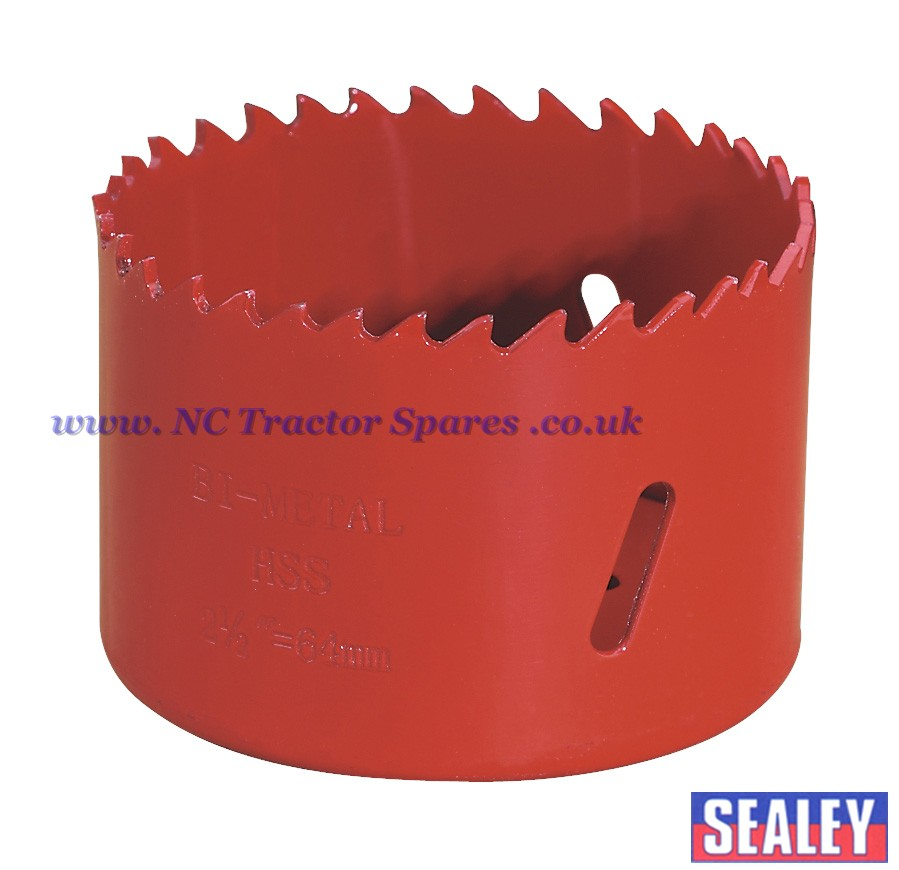 Bi-Metal Hole-Saw 64mm