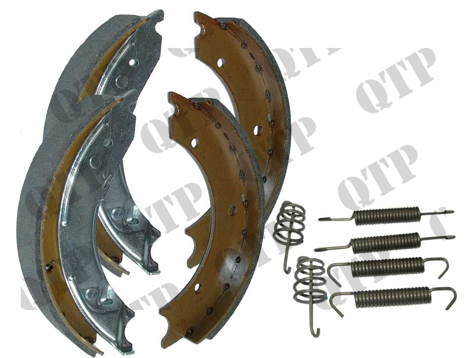 "Brake Shoe Set 10"" 4 pieces 250 x 40 A/Rev"
