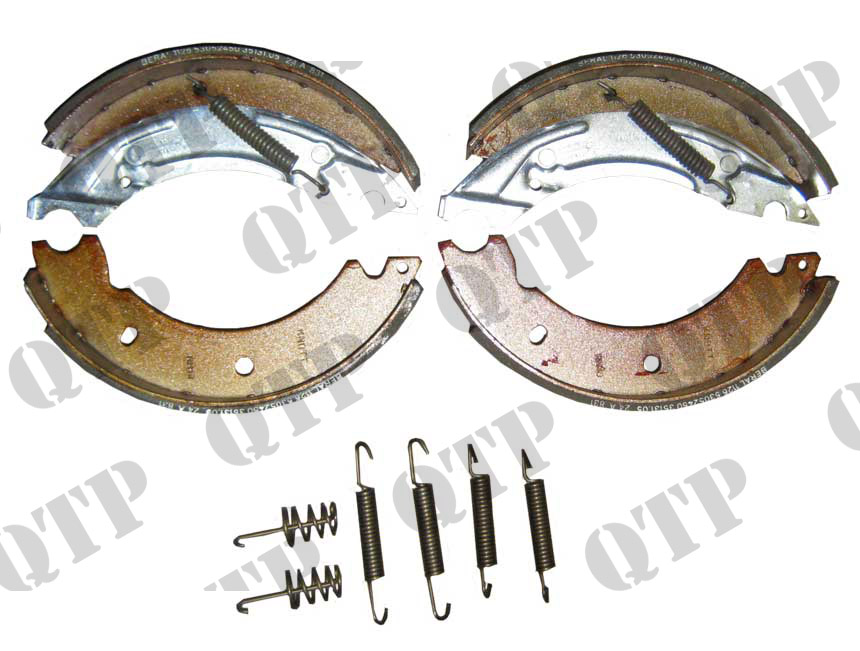 "Brake Shoe Set 8"" (4 Pce - 2 Pairs) 2"" Wide"