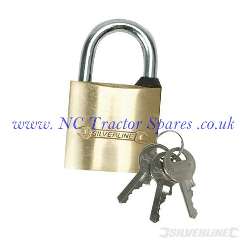 Brass Padlock  50mm (Silverline)
