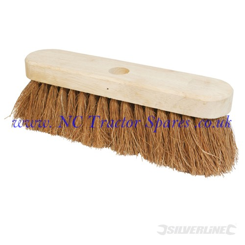 "Broom Soft Coco 254mm (10"") (Silverline)"