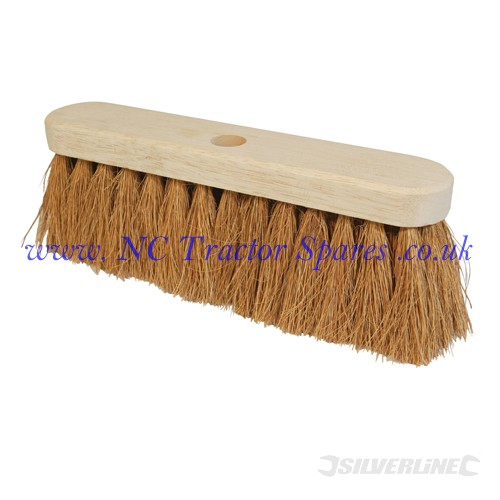 "Broom Soft Coco 304mm (12"") (Silverline)"