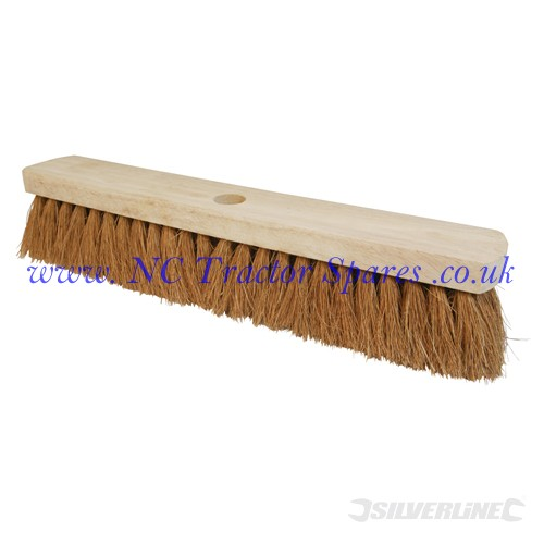 "Broom Soft Coco 457mm (18"") (Silverline)"