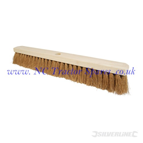 Broom Soft Coco 610mm (24) (Silverline)