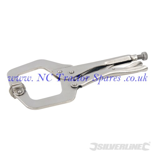 C-Type Welding Clamps, 150mm (Silverline)