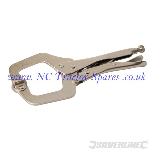 C-Type Welding Clamps. 275mm (Silverline)