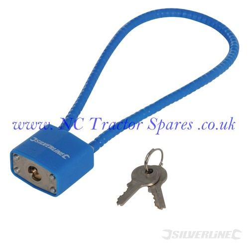 Cable Lock 330mm (Silverline)